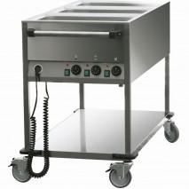 Bain Marie Wagen, 3GN 1-1 mit Temperaturkontrolle 1