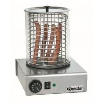 Bartscher Hot Dog Geraet mit Glaszylinder