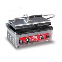 GMG Kontaktgrill 45x27 gerillt 2 Temperaturregler
