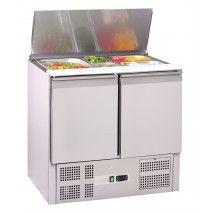 Saladette GN 1/1, 2 Türen mit Umluftkühlung