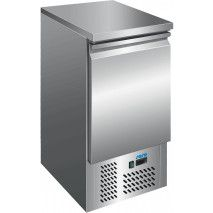 Saro Kühltisch 1 Tür Umluft Edelstahl