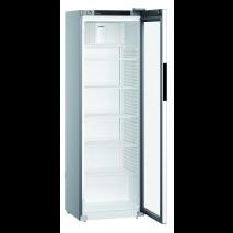 KBS Getränkekühlschrank MRFvd 3511 mit Glastür und Umluftkühlung, silberfarben 40573511