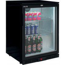 Saro Bar Kühltisch Umluftkühlung 1 Tür schwarz