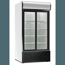 KBS Kühlschrank 1250 GDU ST - Glastür - Umluft - 1068 L