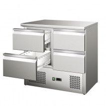 Kühltisch mit 4 Schubladen