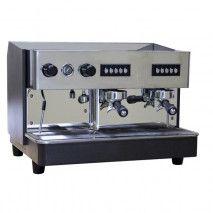 2- gruppige Espresso-Siebträgermaschine