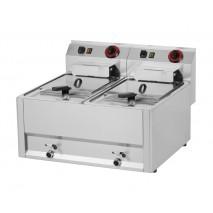 GGG Elektro Fritteuse, 660x600x290 mm, 2x 8-Liter-Becken