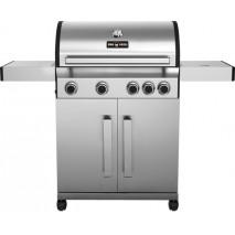 GGG BBQ-Grill Gas,1390x530x1145 mm, Edelstahl, 4x Brenner