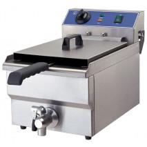 GGG Fritteuse 10 Liter Elektro ECO mit Ablasshahn
