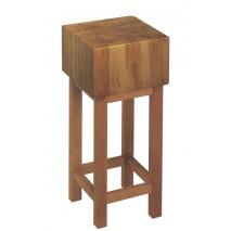 GGG Hackblock 500x500 aus Holz