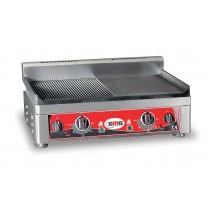 GMG GMG Elektro Grillplatte 52x24 glatt-gerillt