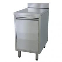 GastroStore Edelstahl Schrank mit Abfallkipper Pro 400x700