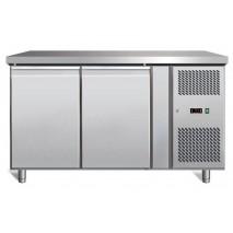 GastroStore GastroStore - Kuehltisch 2-0 Eco - 2 Tueren - GN1-1 - Edelstahl - energiesparend