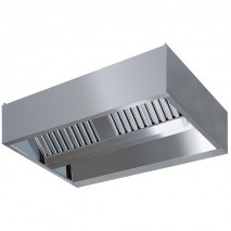 GastroStore Induktions-Deckenhaube Typ A 3000 x 1800 1