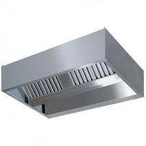 GastroStore Induktions-Deckenhaube Typ A 4000 x 1800 1