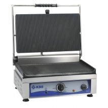 GastroStore Kontaktgrill 2500 Watt Grillflaeche gerillt - glatt 1