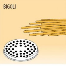 GastroStore Nudelform Bigoli, fuer Nudelmaschine MPF-2,5 und MPF-4