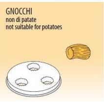GastroStore Nudelform Gnocchi, fuer Nudelmaschine MPF-1,5