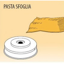 GastroStore Nudelform Pasta sfoglia, fuer Nudelmaschine MPF-1,5