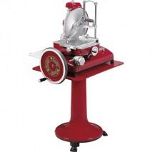 GastroStore RETRO Aufschnittmaschine rot 35 cm vertikal Messer
