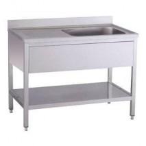 GastroStore Spueltisch Pro 1000x600 Becken rechts