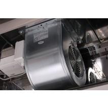 GastroStore Wandhaube Typ B 2400 x 700 mit Motor und Regler 9