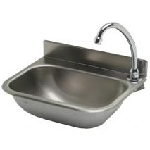 GGG Handwaschbecken 380x290 mm, Edelstahl