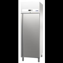 KBS Edelstahlkühlschrank Ready KU 707 GN 2/1, Edelstahl, linksanschlag mit Umluftkühlung und ohne Beleuchtung, 60421012