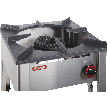 KBS Nayati Hockerkocher  - Gas  13 KW - Wok 8