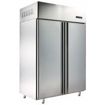 GGG Tiefkühlschrank, komplett aus Edelstahl, 890 Liter, Umluftkühlung