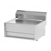 GGG Arbeitsplatte, neutral, 660x600x290 mm,  fuer Tischgebrauch