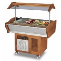 GGG Gastro Buffet Salatbar, 1200x900x850-1350 mm, 389 W, 220 V