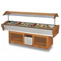 GGG Gastro Buffet Salatbar, 2200x900x850-1350 mm, 790 W , 220 V