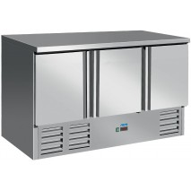 Saro Saro - Kuehltisch VIVIA S903 s-s Top - 3 Tueren - Edelstahl - energiesparend 1