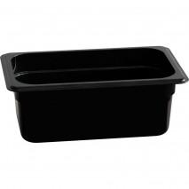 Stalgast Gastronormbehaelter, Polycarbonat, schwarz, GN 1-4 (100 mm)