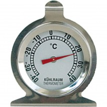 Stalgast Kuehlschrank-Thermometer, Themperaturbereich -40 °C bis 40 °C