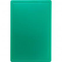 Stalgast Schneidbrett, HACCP, Farbe gruen, 450 x 300 x 13 mm (BxTxH)