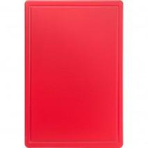 Stalgast Schneidbrett, HACCP, Farbe rot, 450 x 300 x 13 mm (BxTxH)