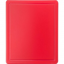 Stalgast Schneidbrett, HACCP, Farbe rot, GN1-2, Staerke 12 mm