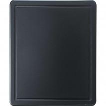 Stalgast Schneidbrett, HACCP, Farbe schwarz, GN1-2, Staerke 12 mm