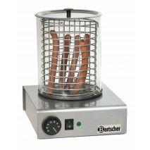 Bartscher Hot Dog Gerät mit Glaszylinder
