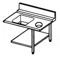 GGG Zulauftisch - mit Becken und Schacht - rechts