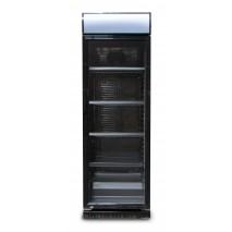 GGG - Getränkekühlschrank - schwarz - 230L - Umluftkühlung - mit Display