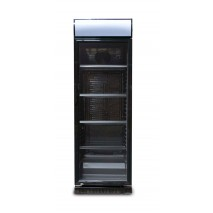 GGG - Getränkekühlschrank - schwarz - 360 L - Stille Kühlung - mit Display