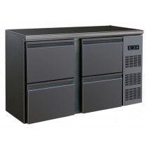 Barkühltisch mit 4 Schubladen