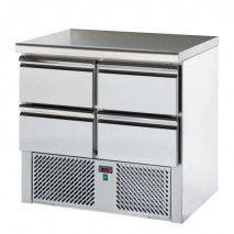 Kühltisch 4 Schubladen - GN1/1 - Umluft - 240 Liter, Gewerbe
