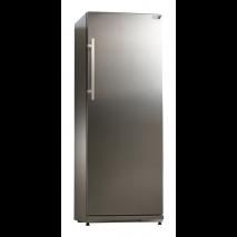 KBS Energiespar-Tiefkühlschrank TK 311 CHR, Edelstahl, mit Stiller Kühlung und keine Beleuchtung, 9190326