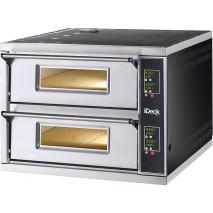 Pizzaofen Moretti Forni IDECK D 105.65 Digital passend, 12 Pizzen, 30 cm Durchmesser