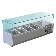 Kühlaufsatzvitrine 1500