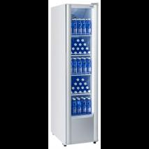 KBS Glastürkühlschrank KBS 326 G Slim, weiss, mit Umluftkühlung und Beleuchtung, 302325